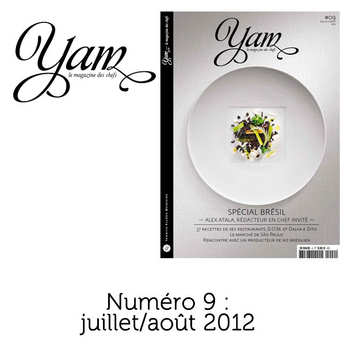 Yannick Alléno Magazine - French magazine about cuisine - YAM n°9