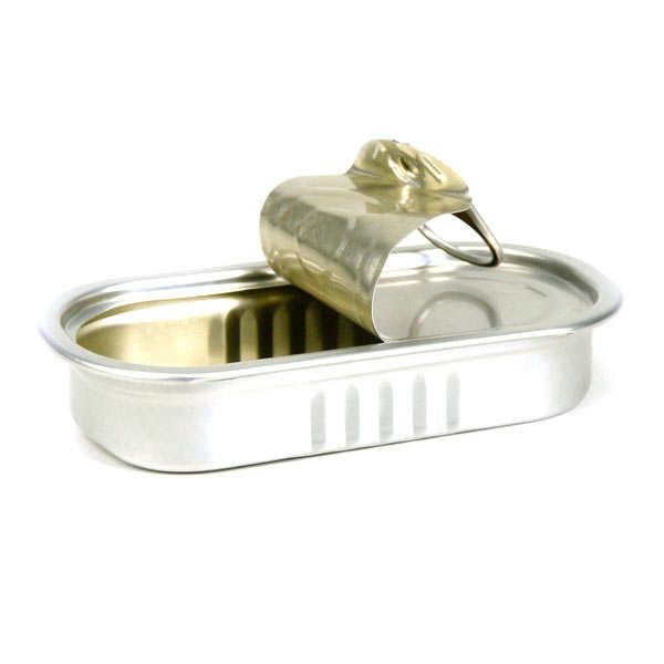 Boites de conserve de pr sentation avec couvercle rectangle bo te sardines 5cl - Conserve de sardines maison ...