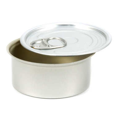 Circular tin can presentation tin with round lid - 100ml