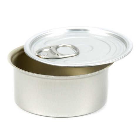 - Circular tin can presentation tin with round lid - 100ml