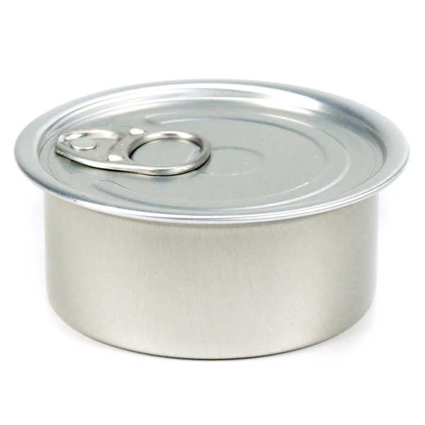 Boites de conserve de présentation avec couvercle - ronde - 10 cl