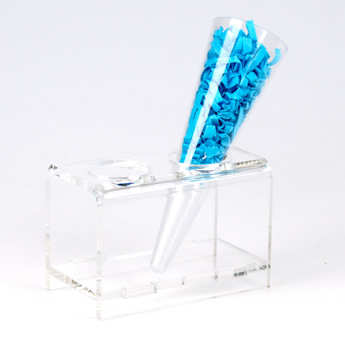 - Presentation rack for cones & pipettes with 2 holders