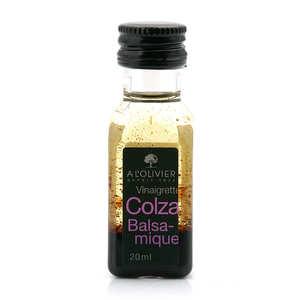 - Mini Balsamic & Olive Oil Vinaigrette