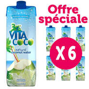 Vita Coco - Vita Coco - 100% pure coconut water - 6 x 1l bottles