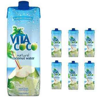 Vita Coco - Vita Coco - 100% pure coconut water - 6 x 1l bottles