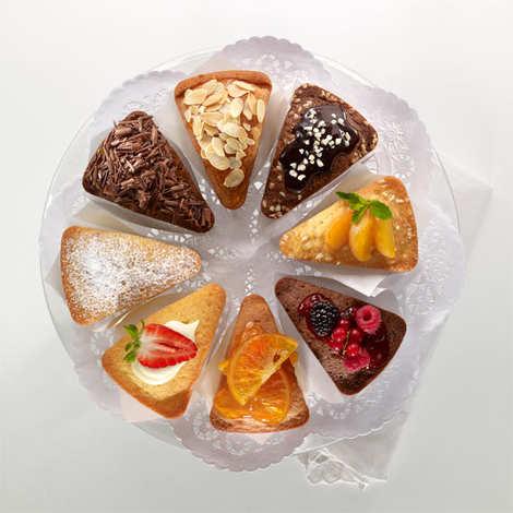 Lékué - Moule à gâteaux 8 portions individuelles en silicone