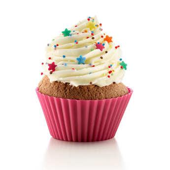 Lékué - Kit cupcake silicone (caisettes+Decomax+recettes)