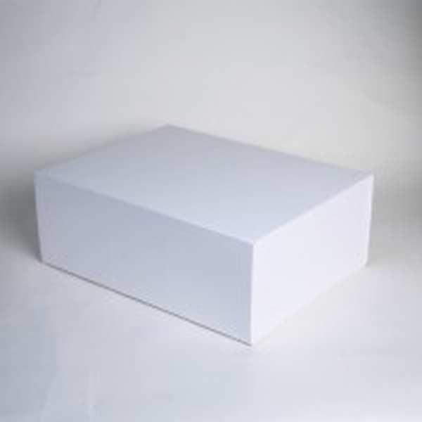 boite cadeau rectangle aimant e blanc mat. Black Bedroom Furniture Sets. Home Design Ideas
