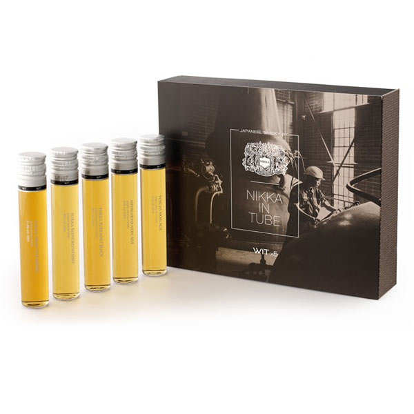 Coffret Nikka In Tube - 5 Whisky japonais en tube WIT
