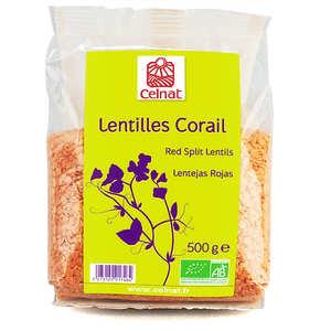 Celnat - Lentilles corail bio