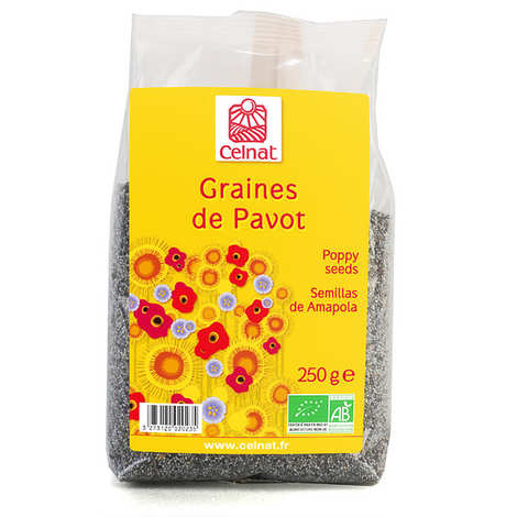 Celnat - Graines de pavot bio