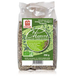 Celnat - Organic hemp seeds bag