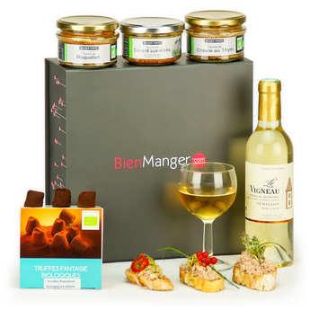BienManger paniers garnis - Organic Gourmet Gift Set