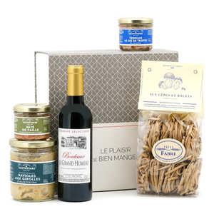 BienManger paniers garnis - Coffret cadeau Plaisirs gourmands
