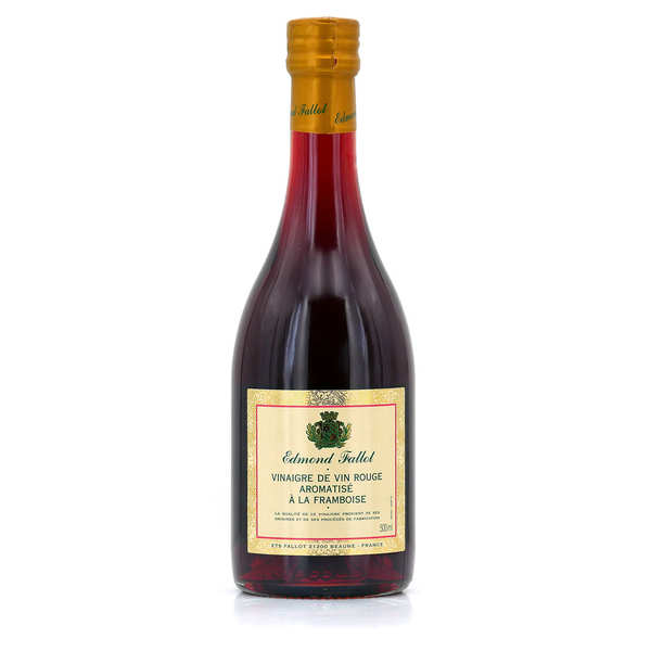 Red wine vinegar with raspberry juice