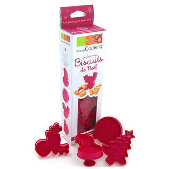ScrapCooking ® - Christmas Biscuits Cutter Kit