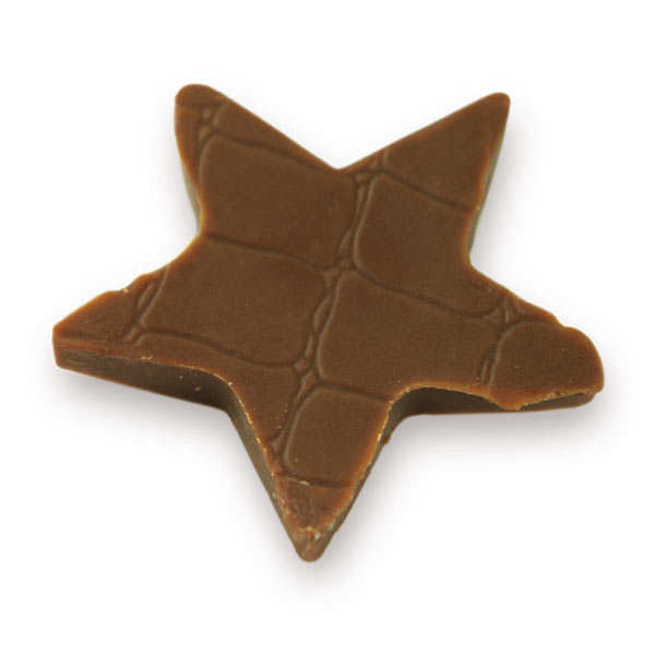 Feuilles structures pour chocolat