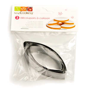 ScrapCooking ® - Cutter set for calissons
