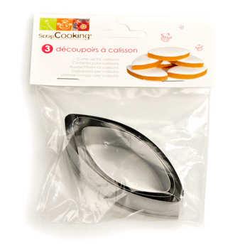 ScrapCooking ® - Découpoirs à calisson (emporte-pièces calisson)