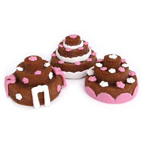 ScrapCooking ® - Silicone mini tiered cakes mould