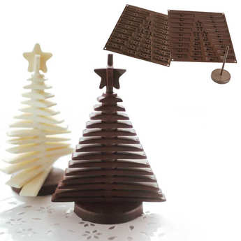 Silikomart - EasyChoc Silikomart ® 3D Christmas Tree