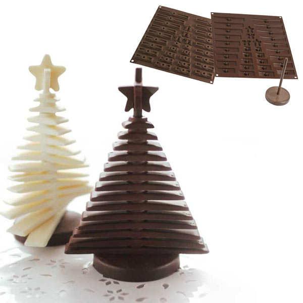 EasyChoc Silikomart ® 3D Christmas Tree