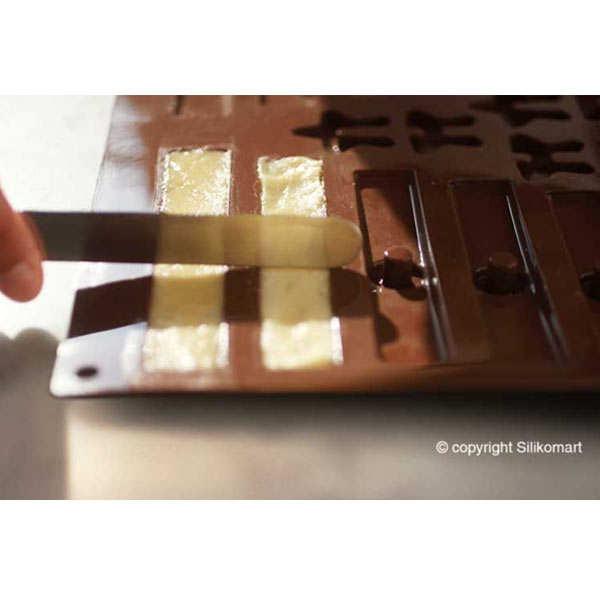 Moule silicone Sapin en 3D - EasyChoc