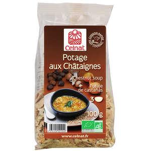 Celnat - Soupe déshydratée aux châtaignes Bio