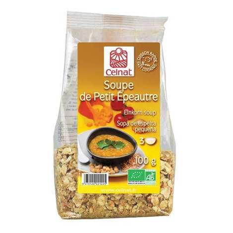 Celnat - Soupe déshydratée de petit épeautre Bio