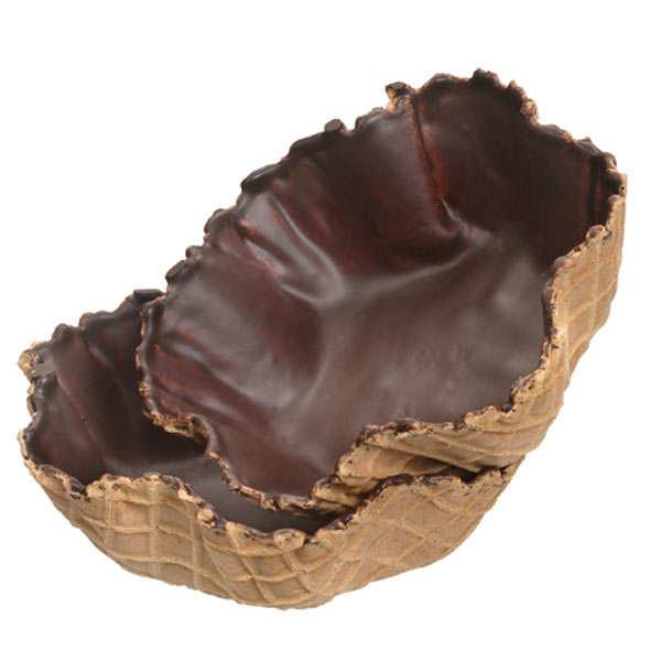 coupe dessert gaufrette chocolat. Black Bedroom Furniture Sets. Home Design Ideas