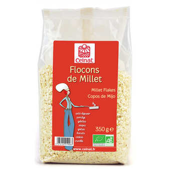 Celnat - Organic millet flakes