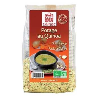 Celnat - Soupe déshydratée au quinoa bio