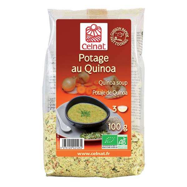 Organic Quinoa Soup