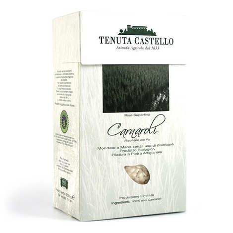 Tenuta Castello - Riz long luxe superfino Carnaroli bio émondé main - spécial risotto