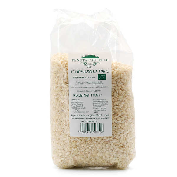 Carnaroli organic rice - For risotto