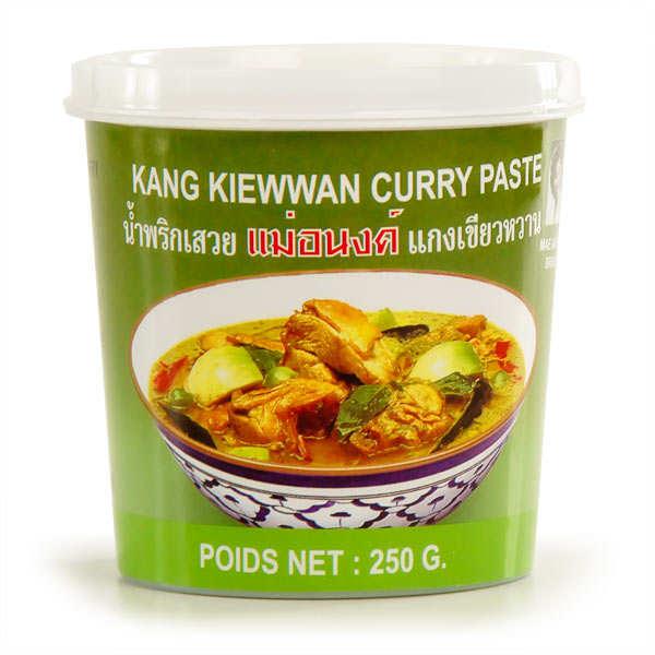 Pâte de curry verte thaïe