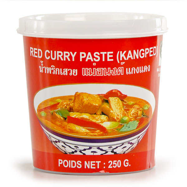 Thaï Red Curry Paste - Mae Anong