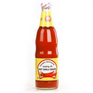 Golden Mountain - Hot chilli sauce - Sauce forte au piment thaï - Tu'o'ng ôt