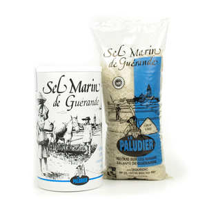 Le Paludier - Salt from Guérande - coarse sea salt