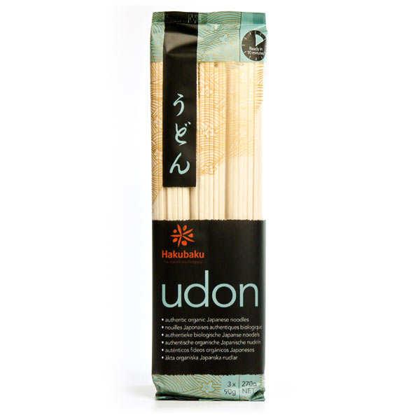 Nouilles japonaises Udon Bio