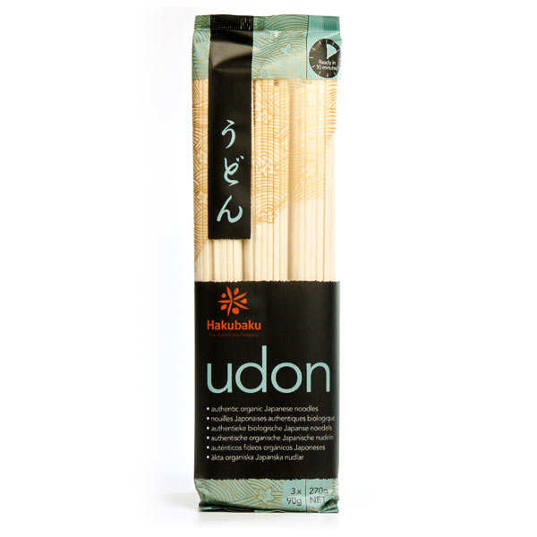 Organic Japanese Udon Noodles