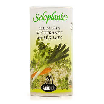 Le Paludier - Vegetable flavoured Guerande Salt