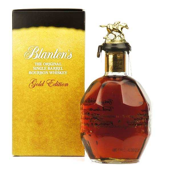 Whisky Blanton's Gold Edition bourbon - 51.5%
