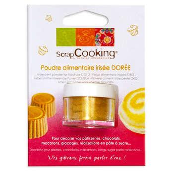 ScrapCooking ® - Sparkling gold food decoration powder