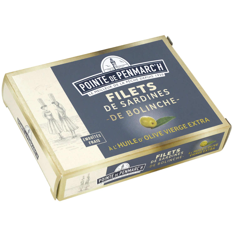 Sardine Fillets of Bolinche to Olive Oil