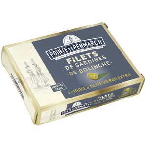 La pointe de Penmarc'h - Sardine Fillets of Bolinche to Olive Oil