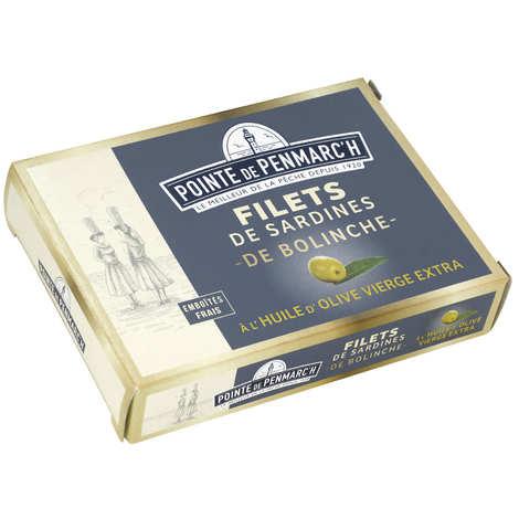 La pointe de Penmarc'h - Filets de sardines de Bolinche à l'huile d'olive