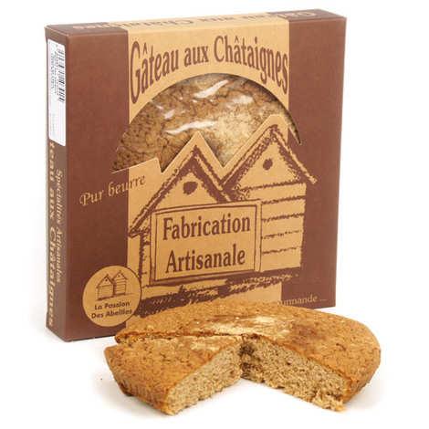 La Passion des Abeilles - Gâteau aux châtaignes pur beurre BIO