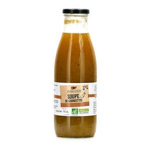Oh ! Légumes oubliés - Soupe pâtisson courgette au curry bio