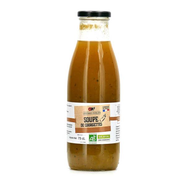 Soupe de courgette au curry bio